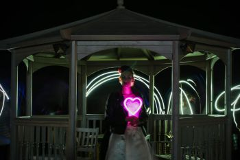 neon dreams- free form images- valentines- night
