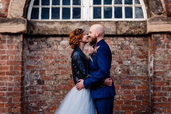 A gothic wedding - national justice museum wedding - alternative wedding - Vicki Clayson Photography (11)