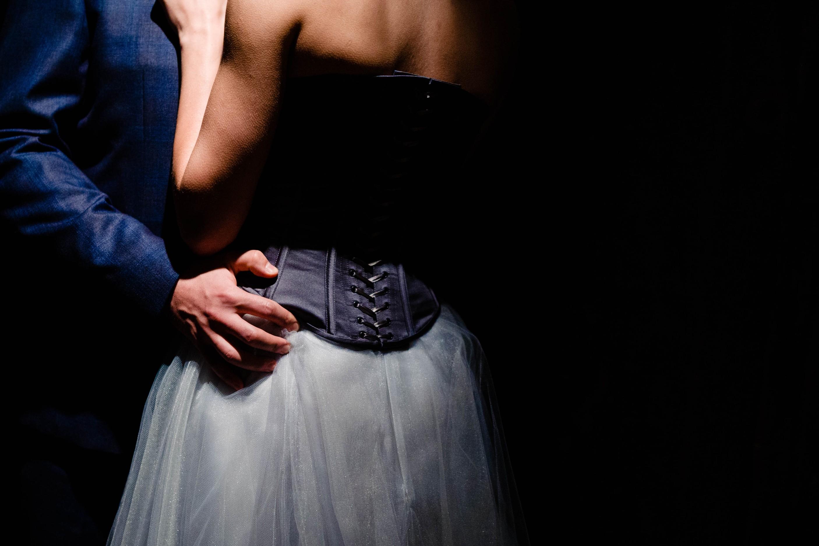 A gothic wedding - national justice museum wedding - alternative wedding - Vicki Clayson Photography (17)