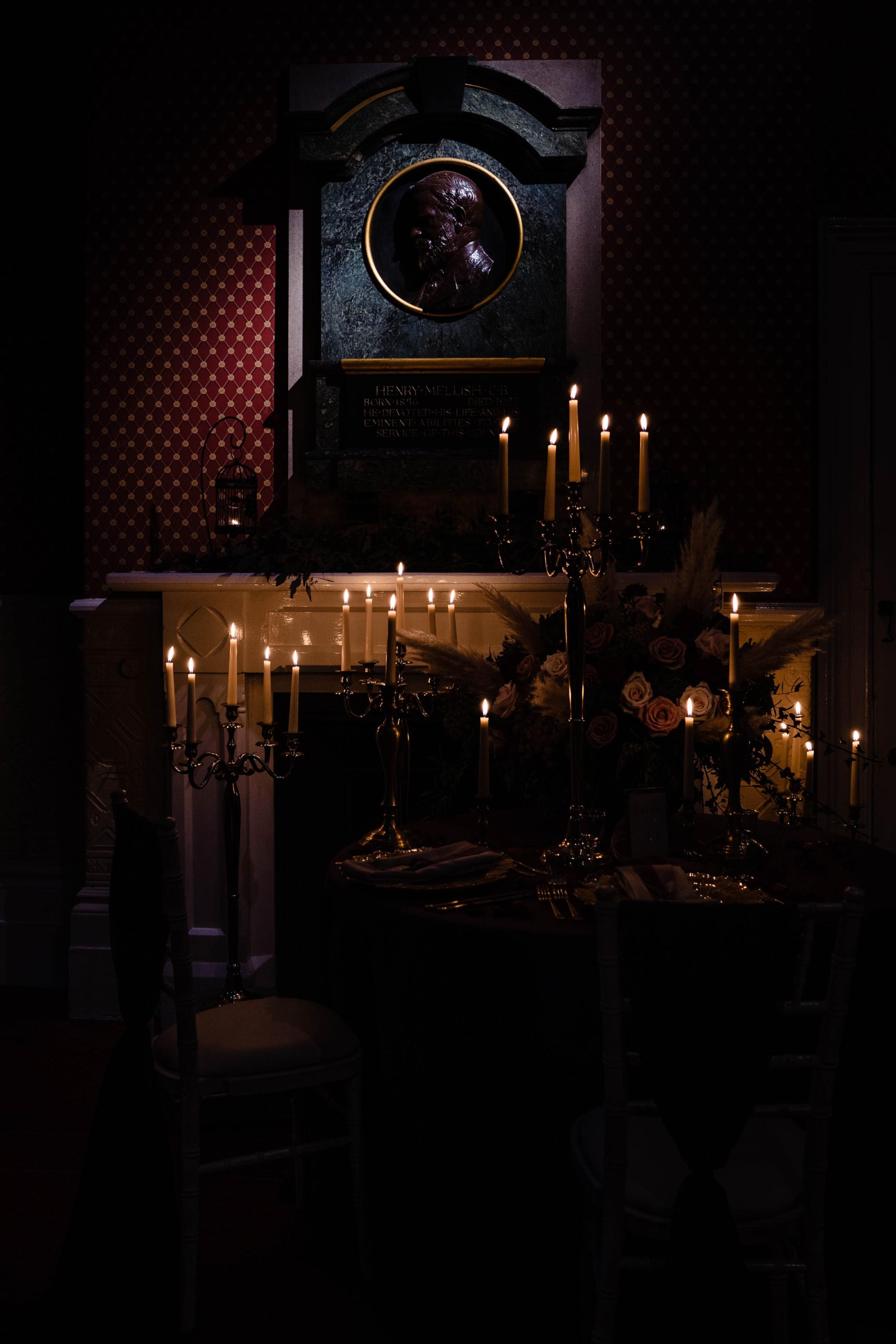 A gothic wedding - national justice museum wedding - alternative wedding - Vicki Clayson Photography (19)
