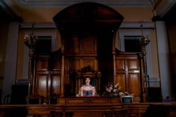 A gothic wedding - national justice museum wedding - alternative wedding - Vicki Clayson Photography (29)