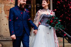 A gothic wedding - national justice museum wedding - alternative wedding - Vicki Clayson Photography (31)