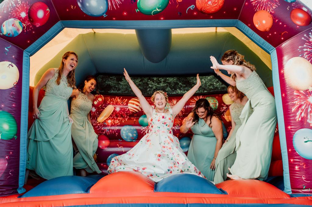Alpaca Yurt Wedding- Bouncy Castle