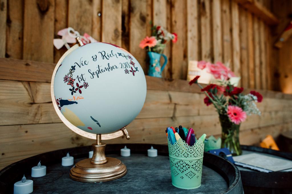 Alpaca Yurt Wedding- Globe