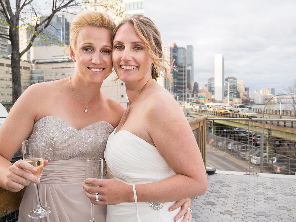 Same Sex New York Couple