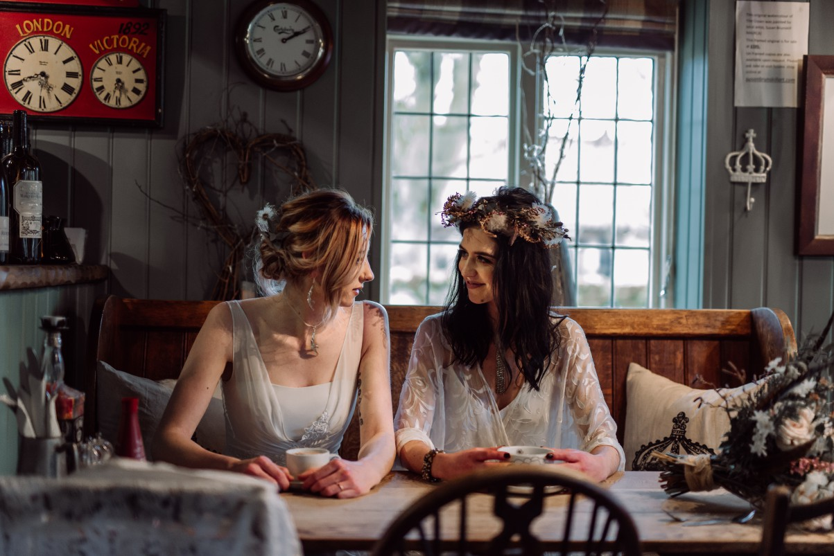 Emma Ryan- Elopement Wedding-Cafe