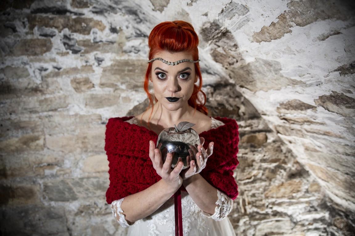 Magpie Weddings-Fairytale Weddings-Red Model