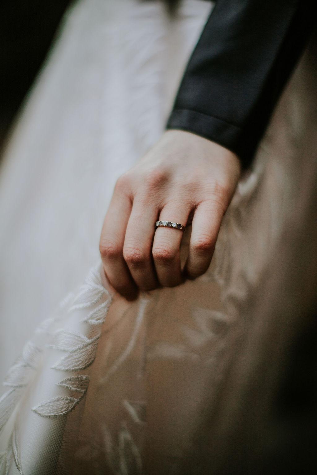 Nurstead Court Wedding- Ring
