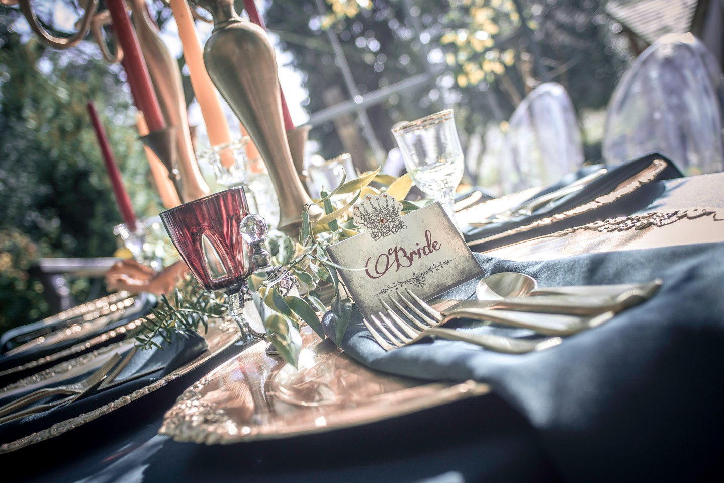 Photo Andy Douglas Photography, styling by that black and white cat weddings 1 - game of thrones wedding - alternative wedding 3