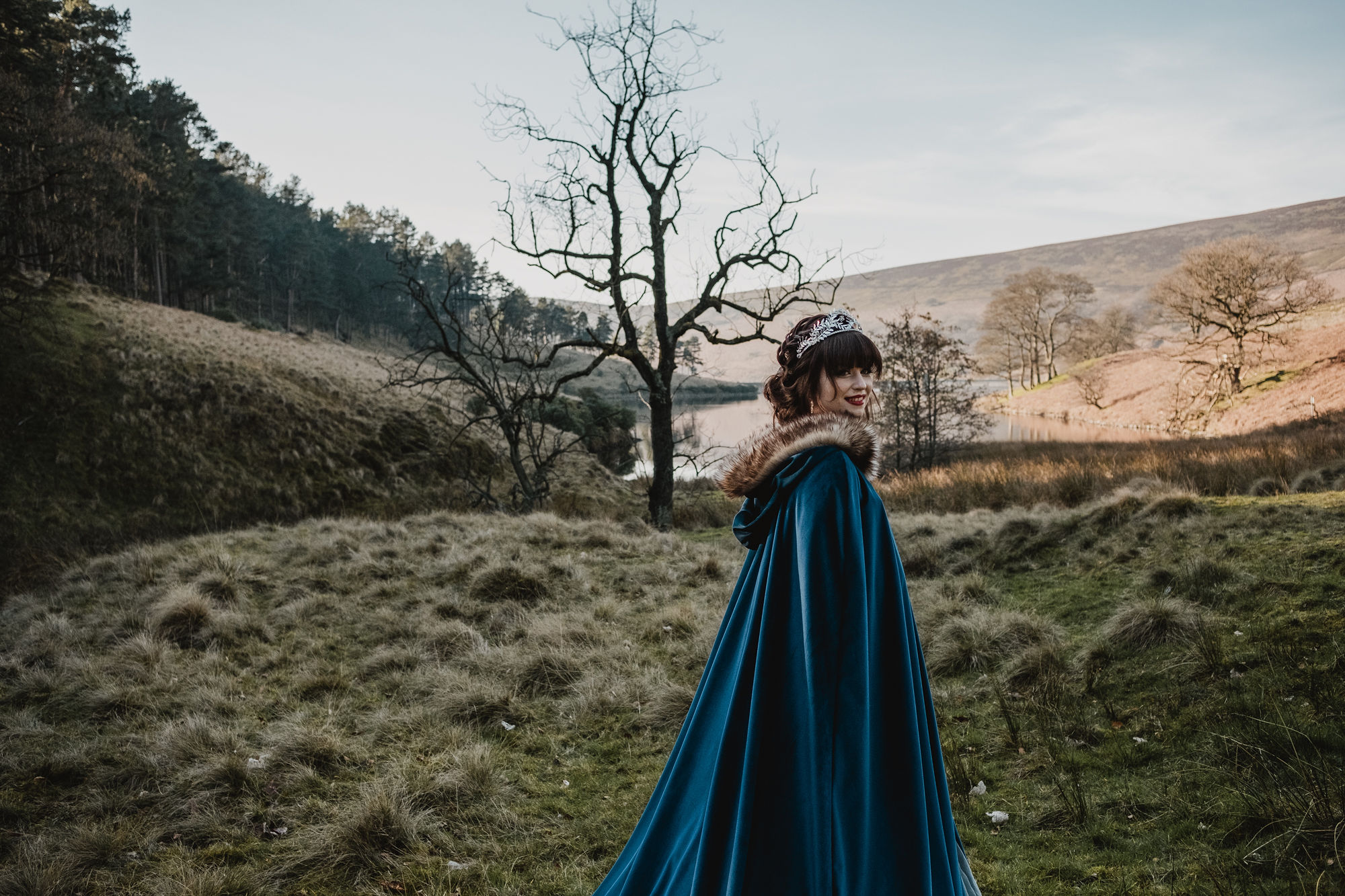 Photo Caroline Goosey with dress by fiona elizabeth couture 4