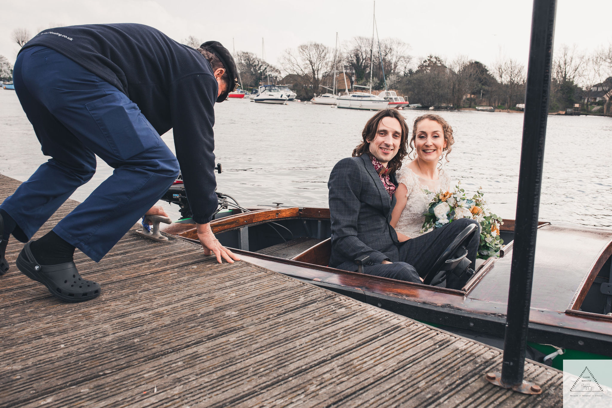 Unique Christchurch Wedding- unique wedding inspiration- alternative wedding- unique wedding ideas- alternative wedding ideas- wedding blog- wedding boat-wedding arrival
