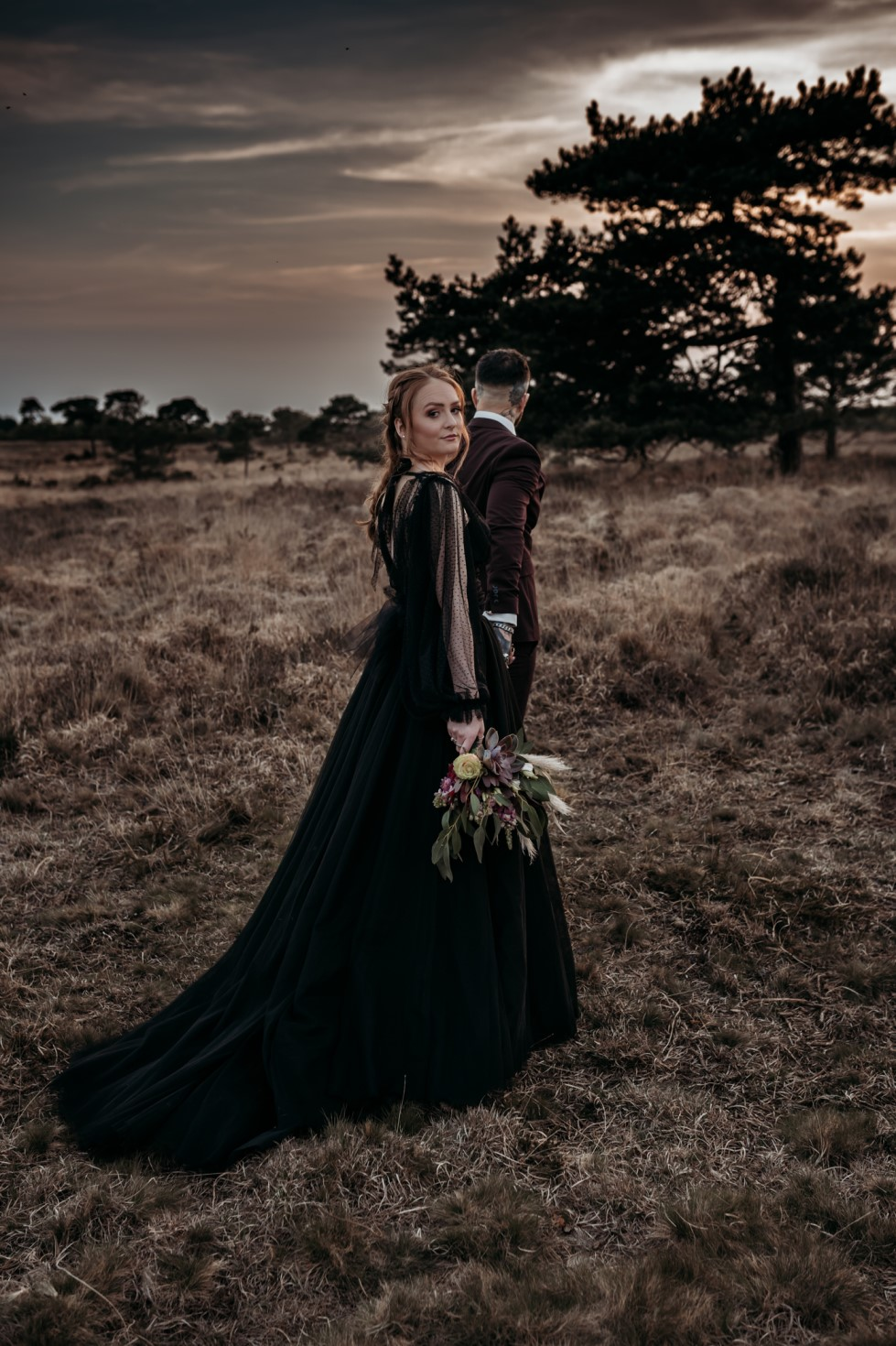 Finn And The Fox Photography-Moody Elopement Wedding- Unconventional Wedding-Edgy Wedding- Unique Wedding