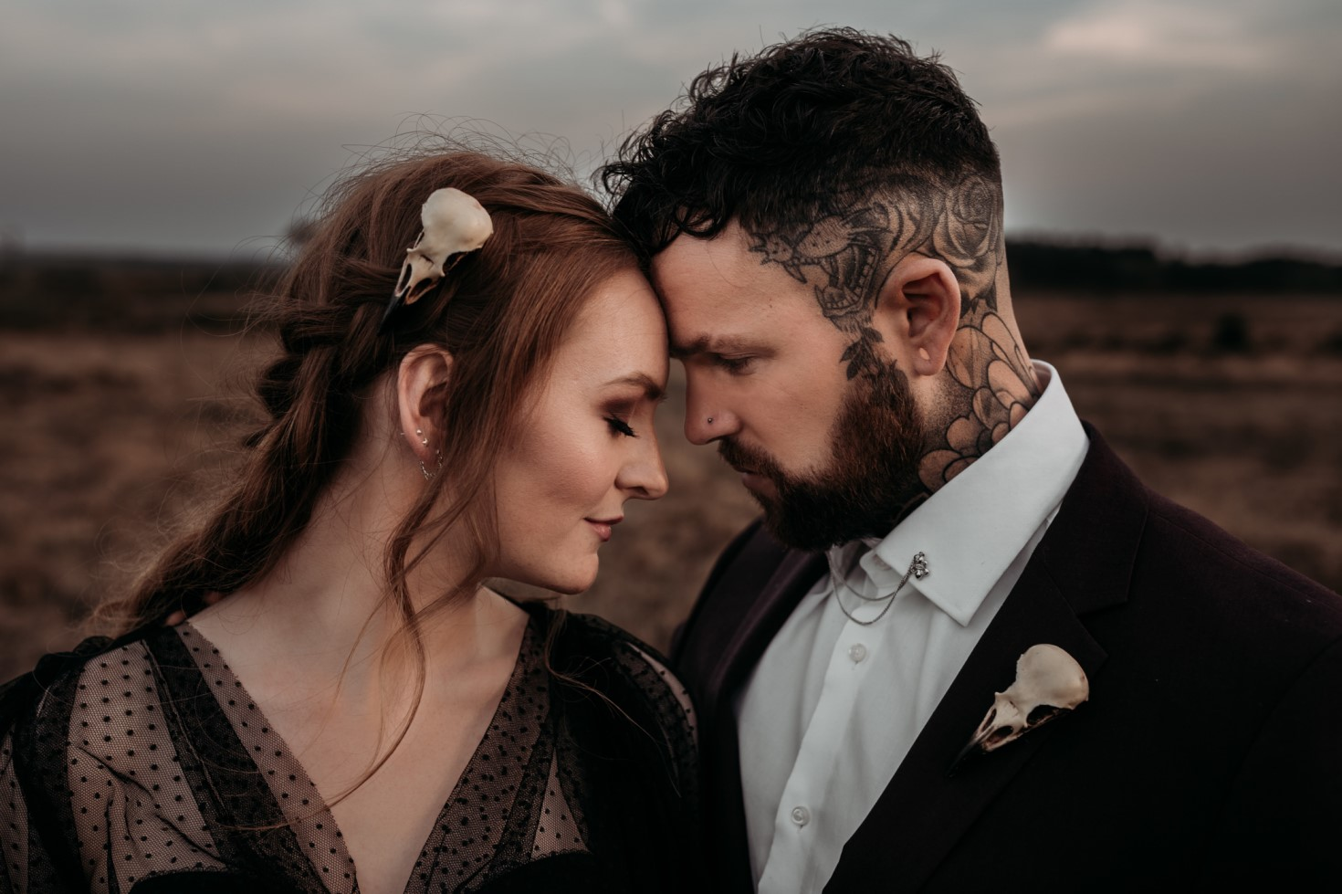 Finn And The Fox Photography-Moody Elopement Wedding- Unconventional Wedding-Edgy Wedding- Unique Wedding - Gothic wedding