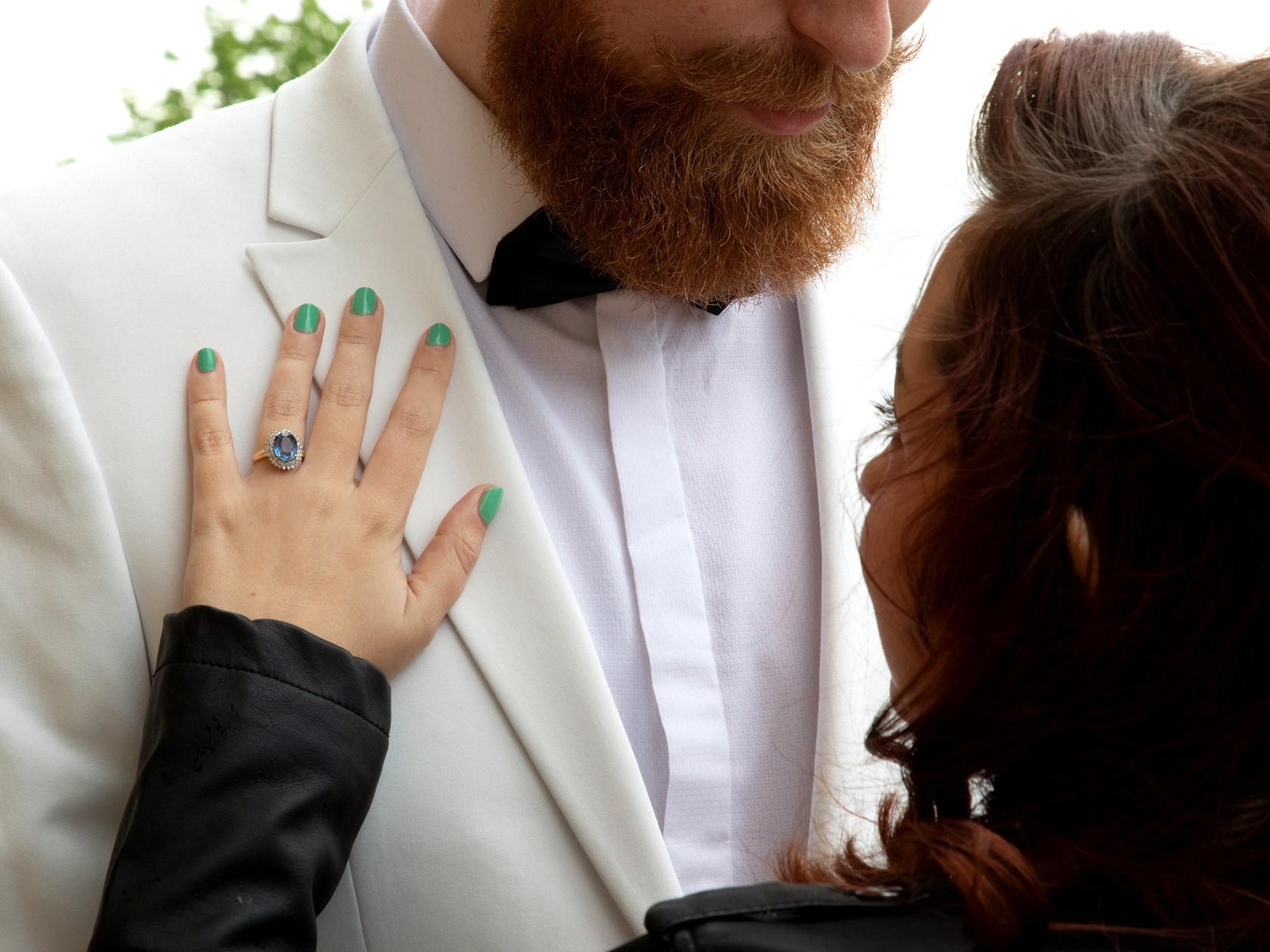 Retro Engagement Shoot- Pink Photographics- Unconventional Wedding- Quirky Wedding- Alternative Wedding- Engagement