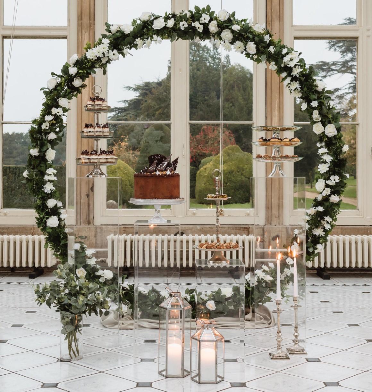 Pasticceria Lorena- wedding Dessert Table- italian dessert table - alternative wedding inspiration - floral ceremony backdrop