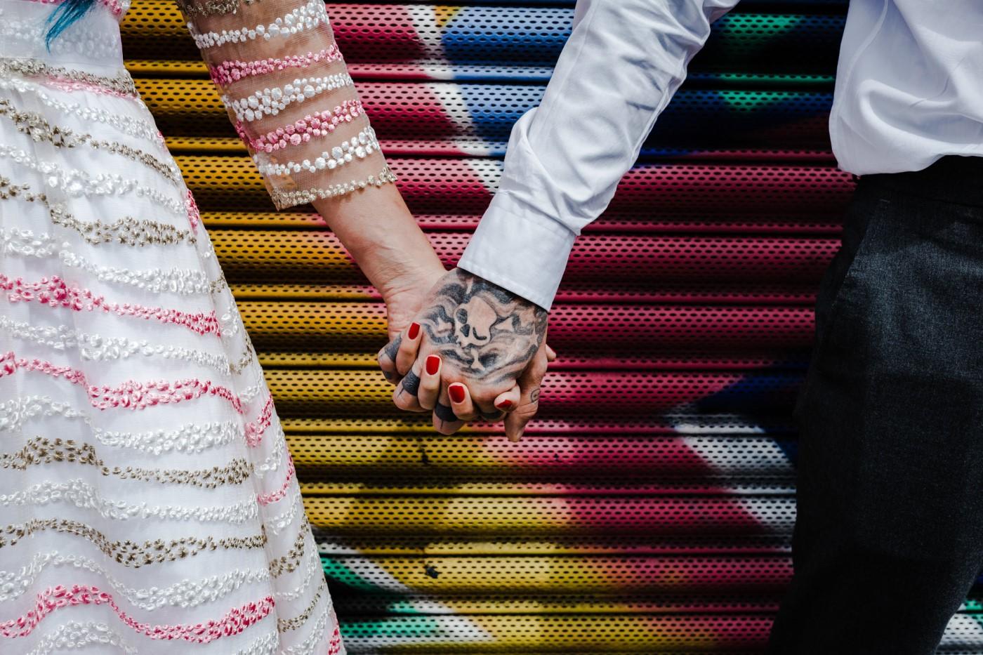 Last Minute Wedding- Kirsty Rocket Photography- Urban Wedding- Wedding Ideas- Wedding Planning- Alternative Wedding- Unconventional Wedding- Creative Wedding- Unique Wedding Dress- Alternative Couple- Nottingham Wedding