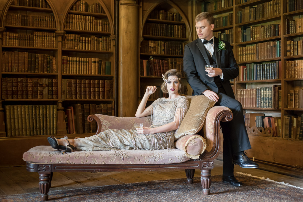 Great Gatsby Wedding- 20s Glamour! ⋆ Unconventional Wedding