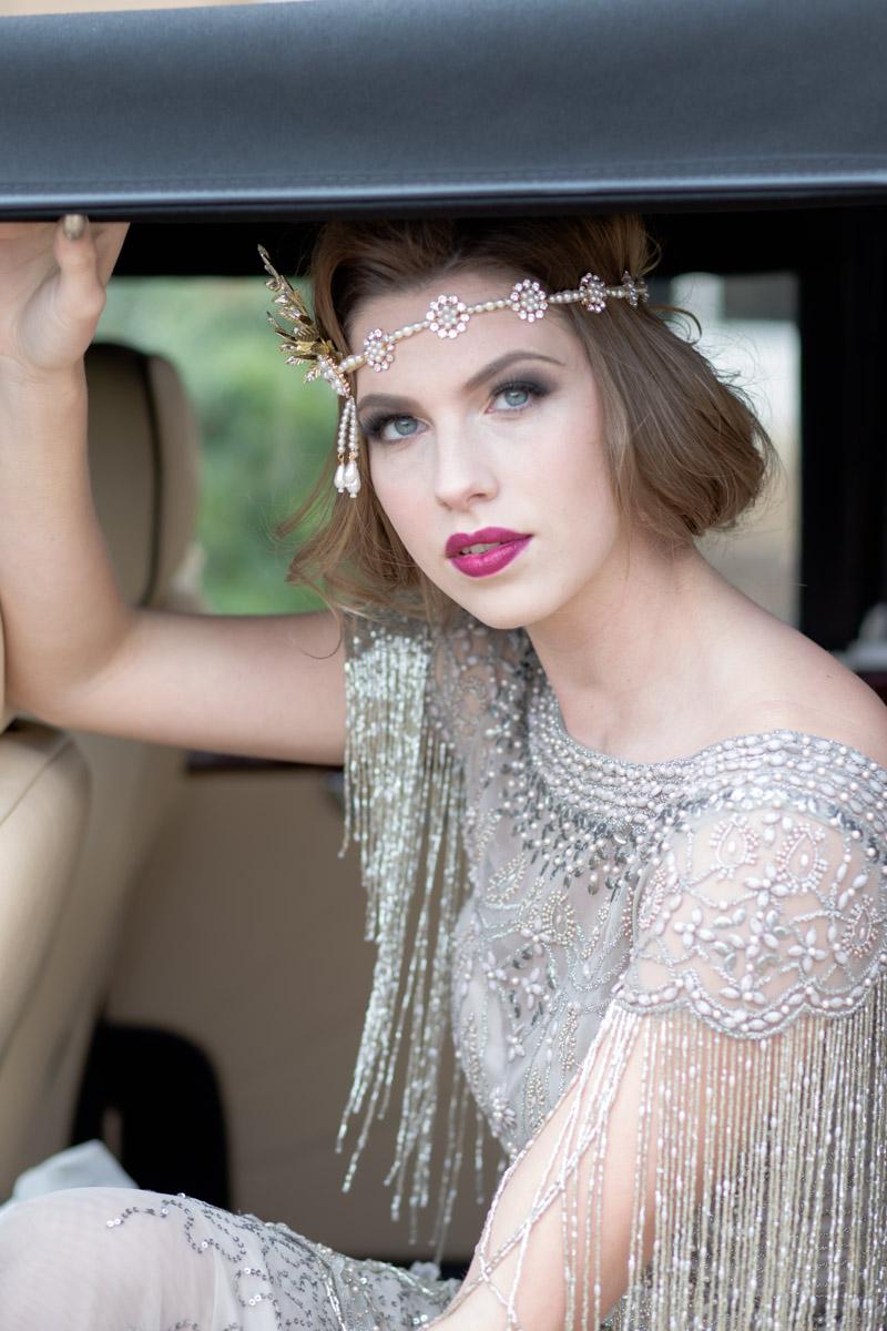 Great Gatsby Wedding- 20s Wedding- Unconventional Wedding- Alternative Wedding- Quirky Wedding- Vintage Wedding- Glamorous Wedding- Quirky Wedding Ideas- Alternative Wedding Dress- Unique Bridalwear