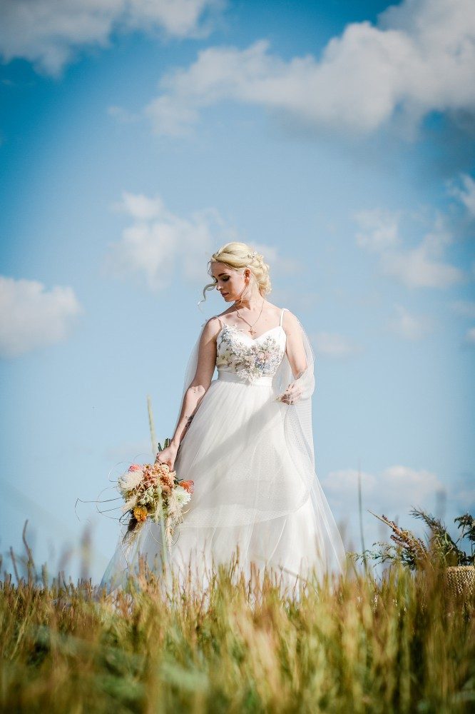Bohemian Beach Wedding Inspiration- Unconventional Wedding- Boho Bride- Alternative Wedding Dress- Bohemian Wedding Dress- Unique Bridalwear- Wedding Blog