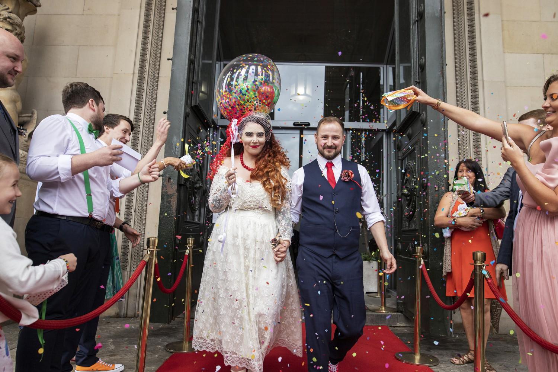 Rainbow DIY Wedding- Colourful Wedding- Unconventional Wedding- Alternative Wedding- Rainbow Wedding