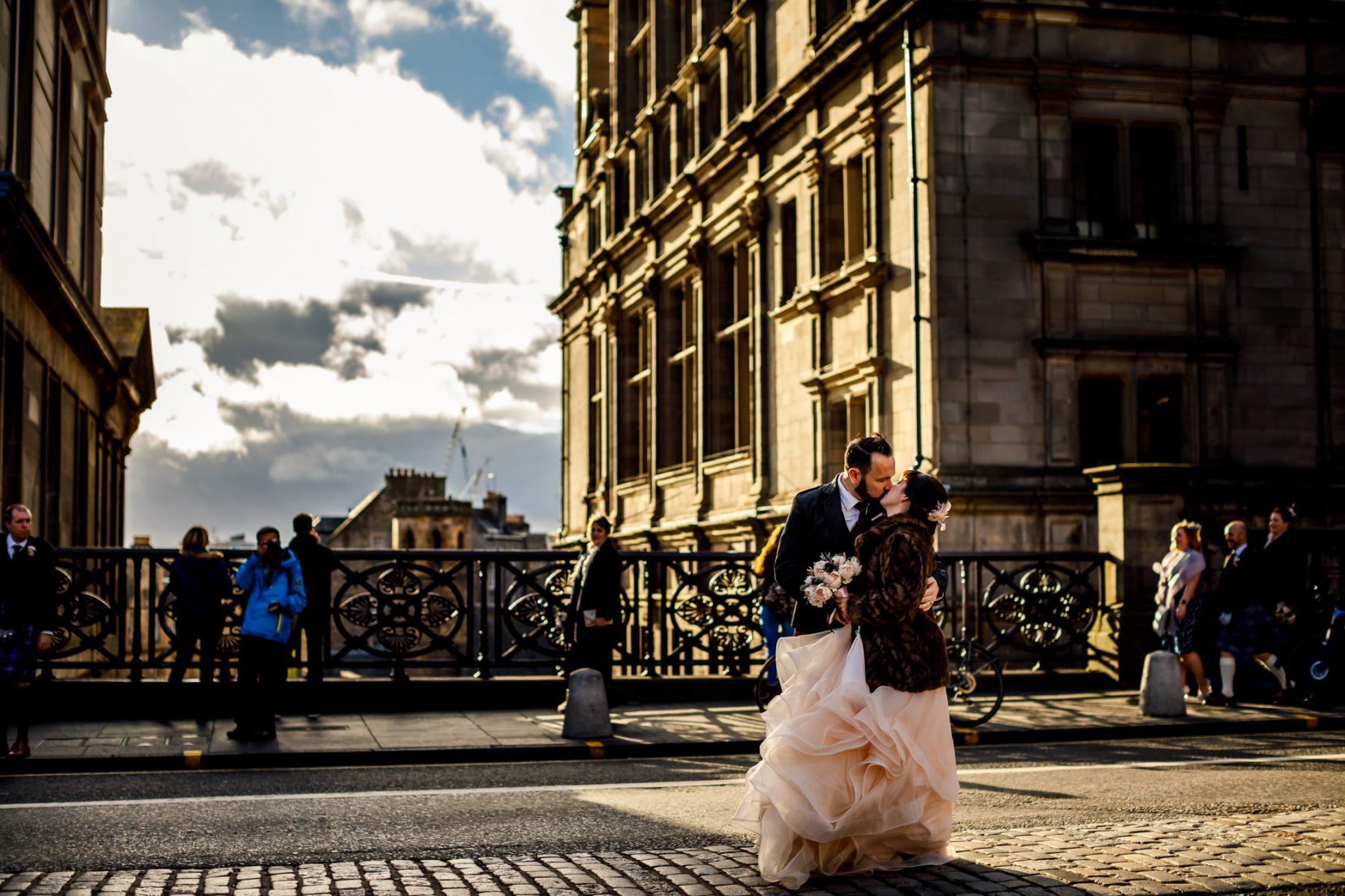Unique Wedding Venues- Unconventional Wedding- Lina & Tom Photography- Outdoor Wedding Photos in Edinburgh