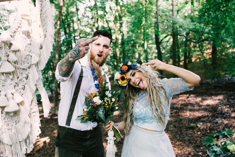 forest elopement - micro-wedding - forest elopement - small weddings - alternative wedding - outdoor wedding - covid wedding