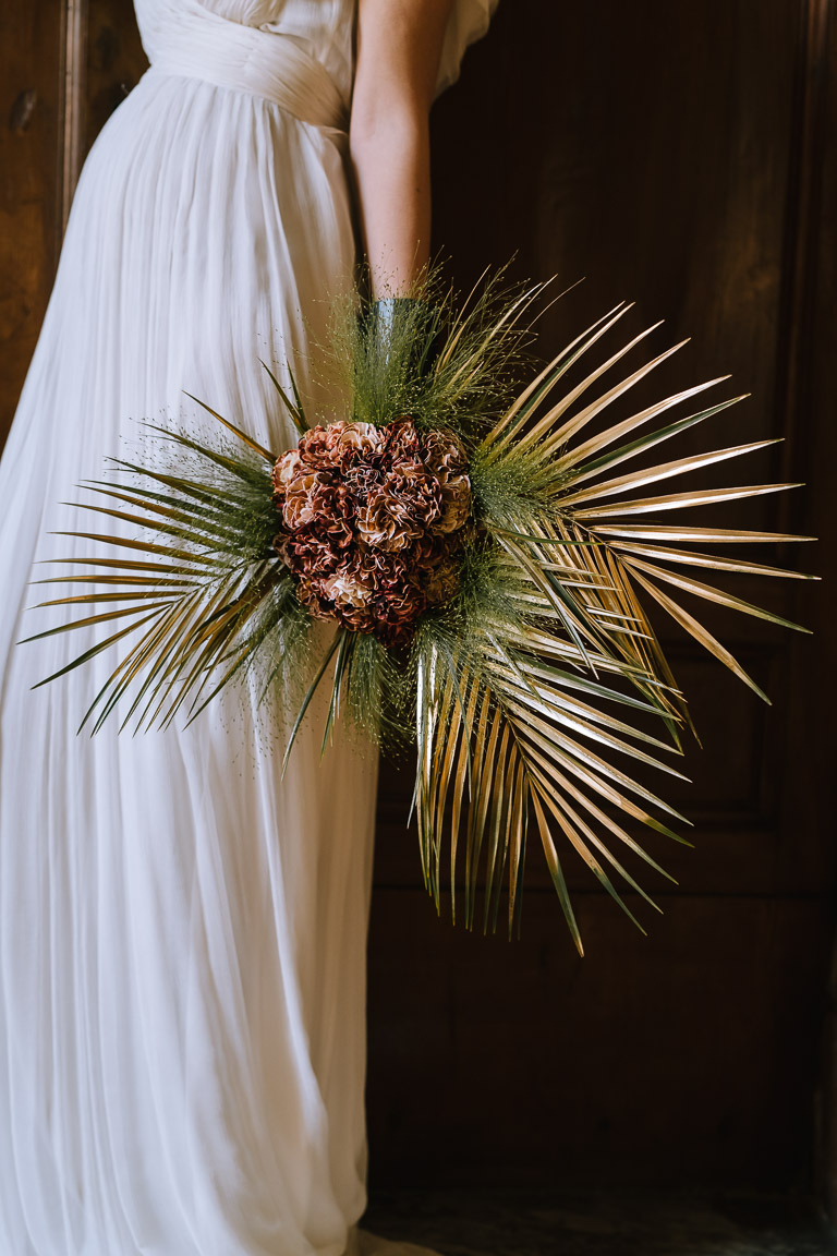 Wedding Inspiration- Marcella Cistola- exotic wedding bouquer- unique bouquet- alternative wedding bouquet