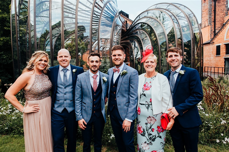 Bombay Sapphire Wedding- Same Sex Wedding- Unconventional Wedding- This And That Photography- wedding family photo