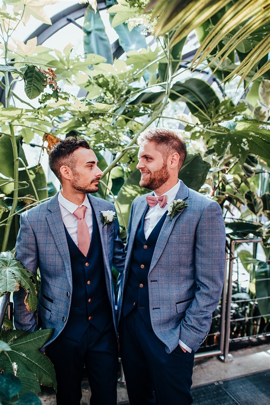 Bombay Sapphire Wedding- Same Sex Wedding- Unconventional Wedding- This And That Photography- greenhouse wedding photos