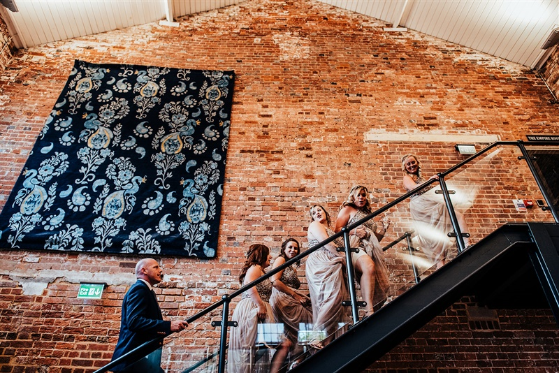 Bombay Sapphire Wedding- Same Sex Wedding- Unconventional Wedding- This And That Photography- industrial wedding venue