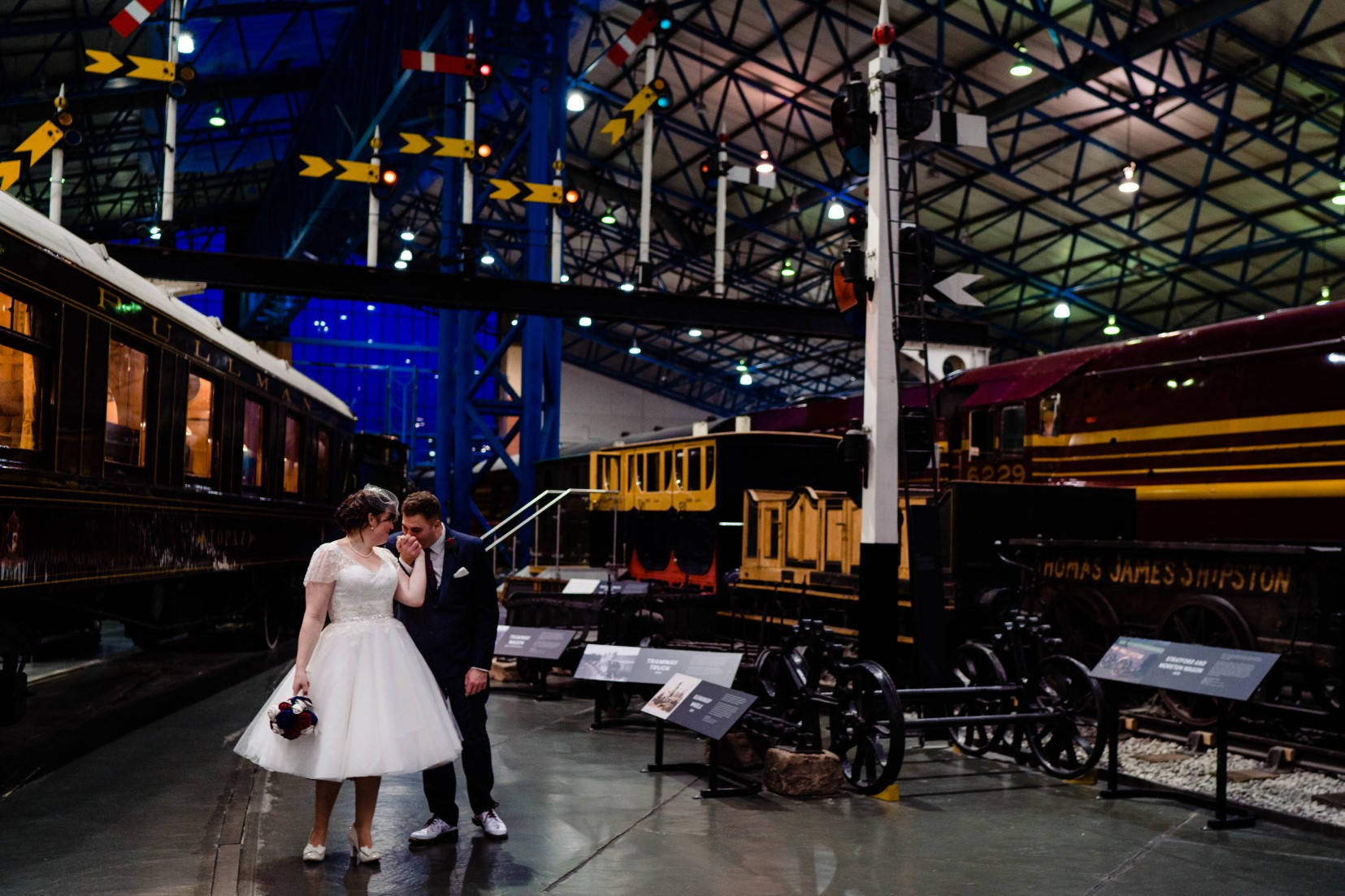 Industrial Railway Wedding- Vicki Clayson Photography- Unconventional Wedding- Unique Wedding Venue- industrial wedding