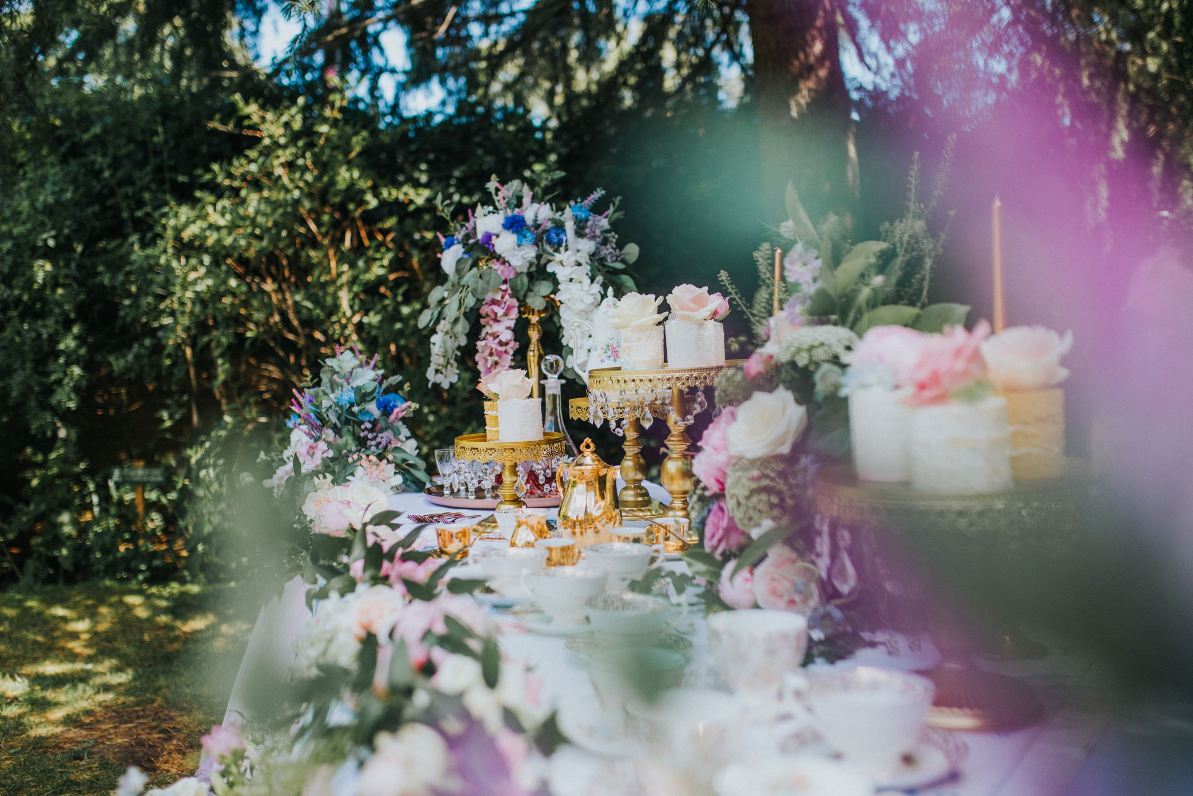 Whimsical wedding- Laura Beresford Photography- unconventional wedding- alternative wedding- vintage wedding- wedding tea party