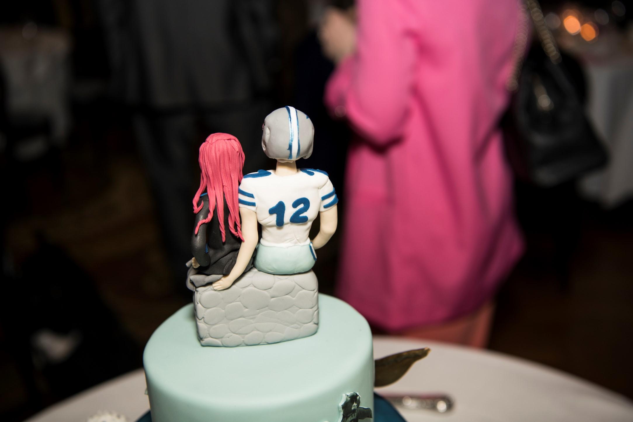 Zoo Wedding- Emma May Photography- Unconventional Wedding- Unique Wedding Inspiration- Harry Potter Wedding Cake