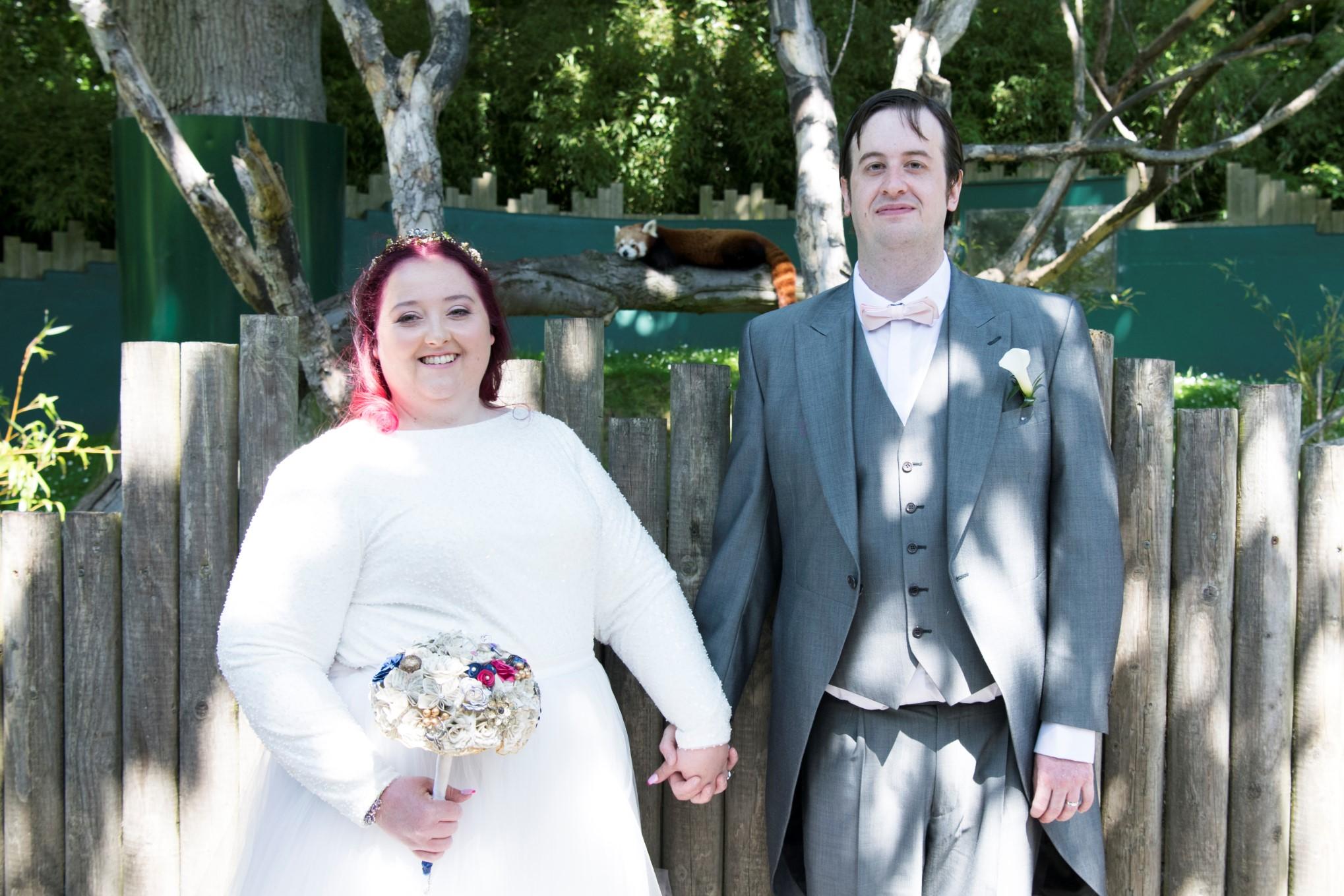Zoo Wedding- Emma May Photography- Unconventional Wedding- Unique Wedding Inspiration 12