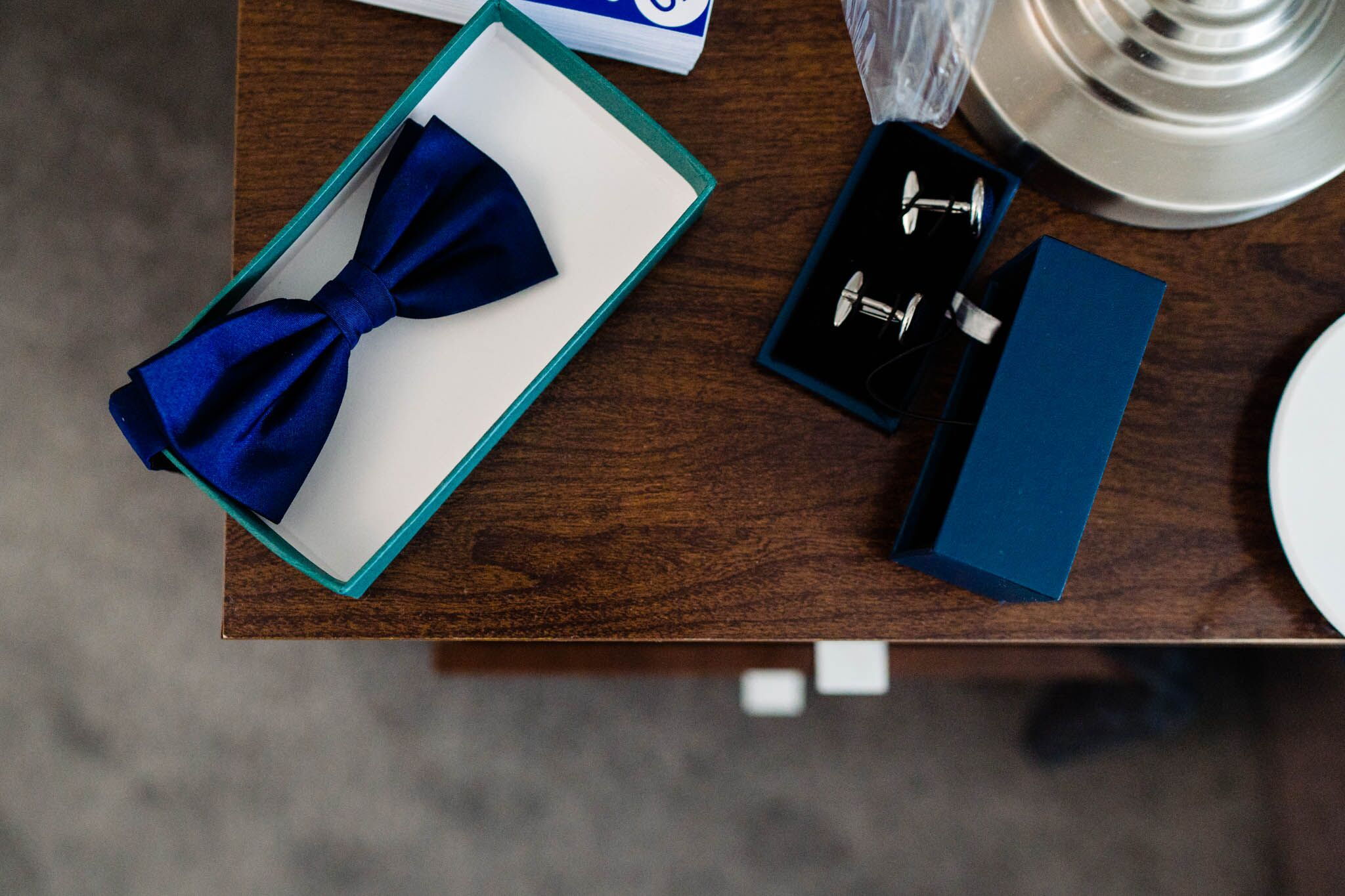 Getting Married Abroad- Grooms Perspective- Wedding Planning for Men- Unconventional Wedding- Vicki Clayson Photography- Grooms tie and cufflinks
