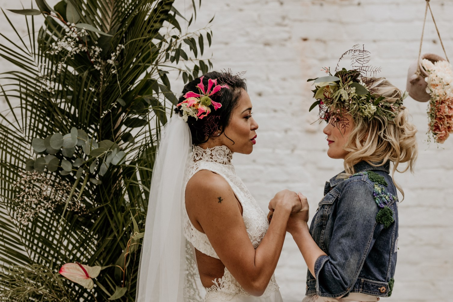 tropical opulence wedding- tropulence- twigs branch photography- unconventional wedding- same sex wedding