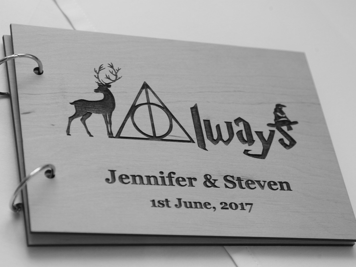 Harry Potter Wedding- Pink Photographics- Unconventional Wedding- Themed Wedding- Harry Potter Wedding Guestbook