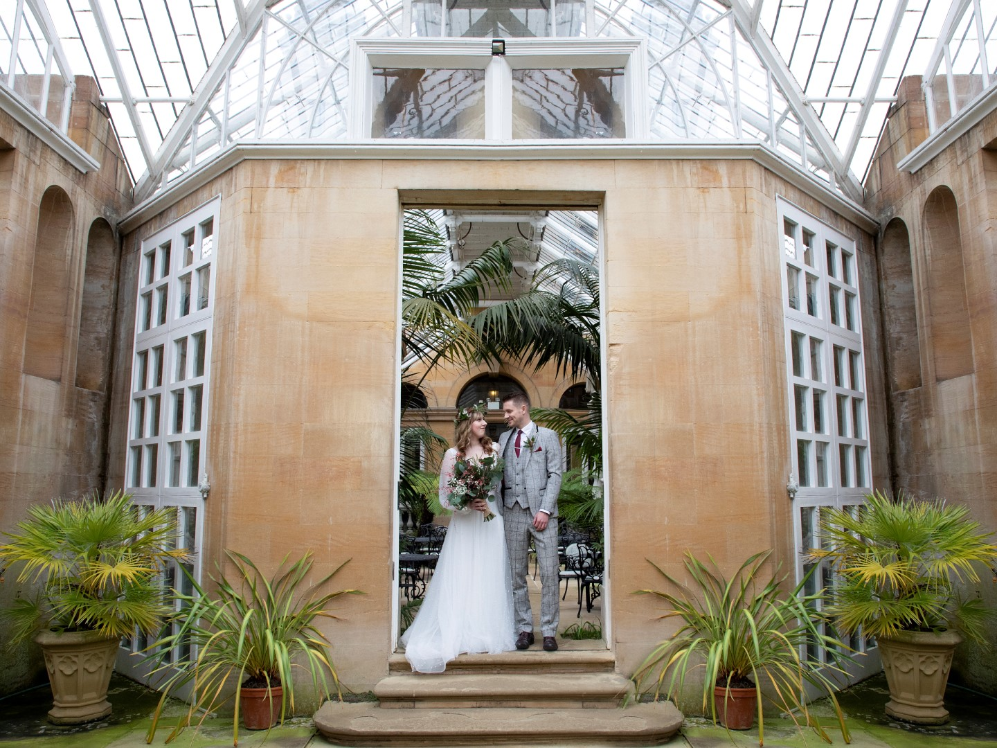 Tropical Boho Wedding- Pink Photographics- Greenhouse Wedding- Harlaxton Wedding- Unconventional Wedding- Unique Wedding Ideas 17