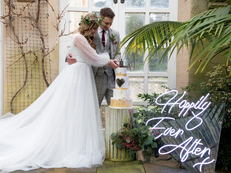 Tropical Boho Wedding- Pink Photographics- Greenhouse Wedding- Harlaxton Wedding- Unconventional Wedding- Unique Wedding Ideas 9