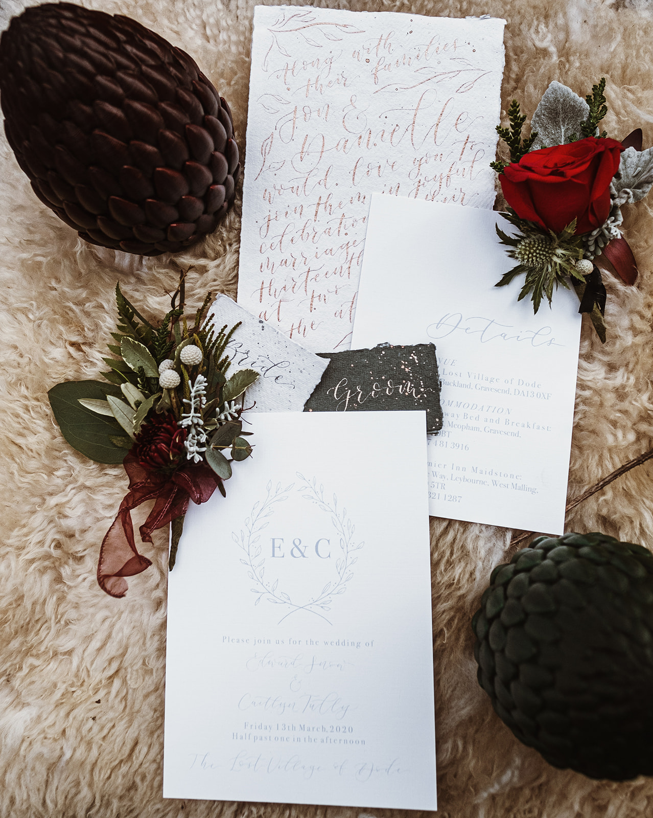 Game Of Thrones Wedding- Tom Jeavons Photography- Unconventional Wedding- Fantasy Wedding- Themed Wedding- alternative wedding stationery