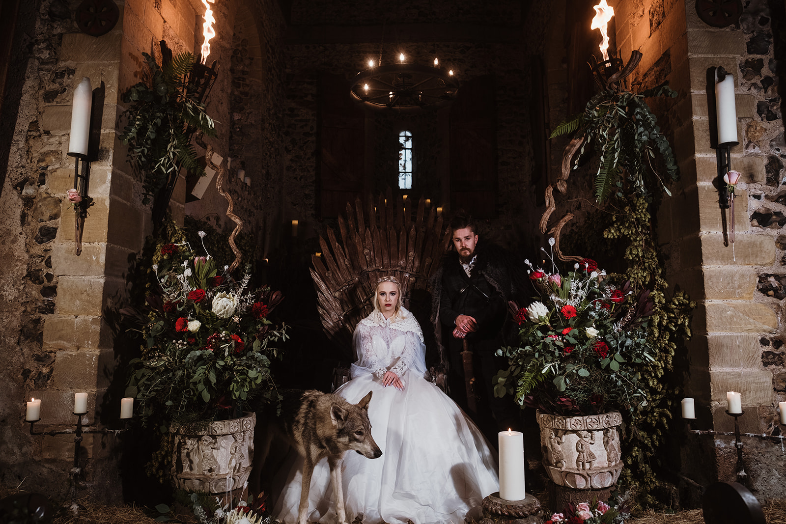 Game Of Thrones Wedding- Tom Jeavons Photography- Unconventional Wedding- Fantasy Wedding- Themed Wedding- wedding throne