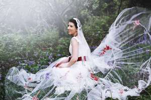 felicitywestmacott17 victorian gypsy bride