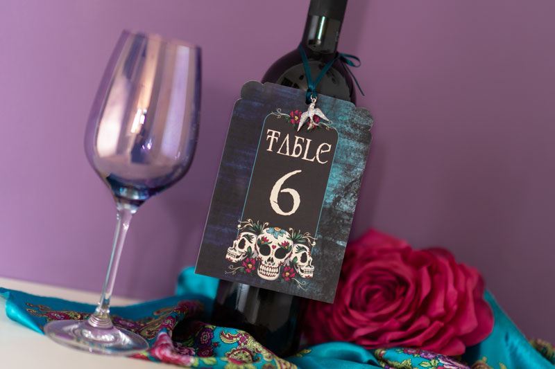 choosing your wedding stationery - unique wedding stationery - quirky wedding stationery -alternative wedding stationery - elegant wedding stationery- alternative wedding directory - alternative weddings- gothic wedding table numbers - gothic wedding stationery