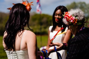 Festival Wedding-Unconventional-Wedding-Festival-Star-Ceremonies-Hand-fasting-ceremony-vicki-clayson-photography