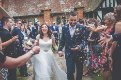 Lightbox studios - confetti wedding photo - southampton wedding photographer 1