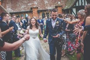 Lightbox studios - confetti wedding photo - southampton wedding photographer 1