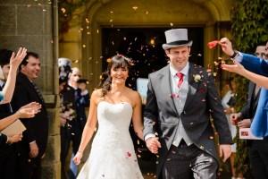 Uniquely funky eco confetti - wedding confetti photo
