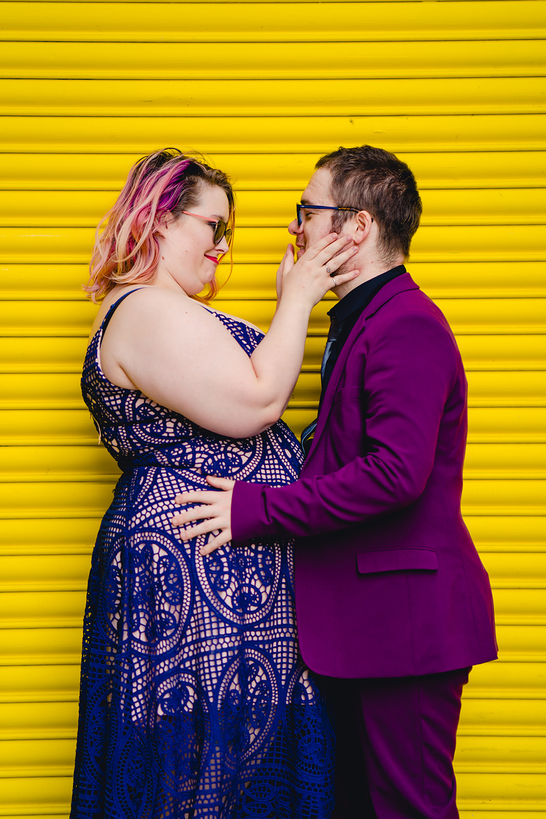 engagement shoots - birmingham engagement shoot - colourful wedding photoshoot - quirky wedding photos - fun wedding photography - alternative wedding - fun engagement photo