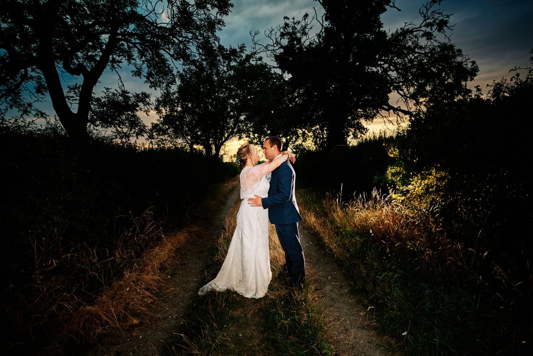nhs wedding - paramedic wedding - blue and gold wedding - outdoor wedding - micro wedding - surprise wedding - romantic wedding photography