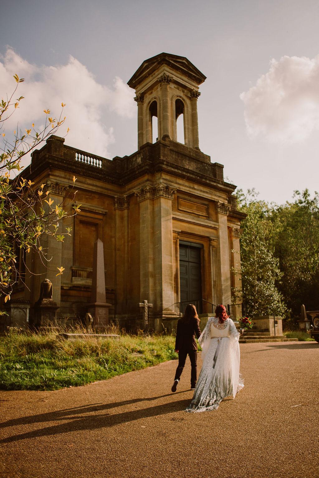 arnos vale - alternative wedding venue in bristol - micro wedding